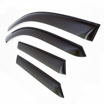 Ветровики (дефлекторы окон)  HYUNDAI Solaris с 2010 г.в. Sedan