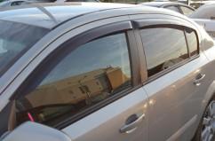 Ветровики (дефлекторы окон)  Opel Astra H с 2007 г.в. Sedan