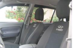 Чехлы на сиденья модельные Chery Kimo 2008 -  (стандарт)