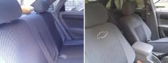 Чехлы на сиденья модельные Chevrolet Aveo (х/б) 2002 - 2011 (стандарт)