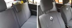 Чехлы на сиденья модельные Renault-Dacia  Sandero 2007 -  (стандарт)