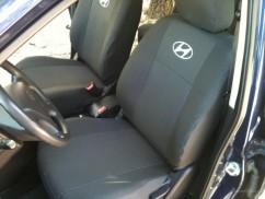Чехлы на сиденья модельные Hyundai Accent New  2011 - (стандарт)