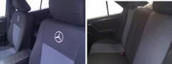 Prestige Чехлы на сиденья модельные Mercedes Vito 639 1+1 2003-2015 (стандарт)