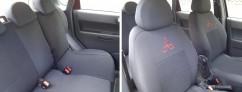 Prestige Чехлы на сиденья модельные Mitsubishi Lancer X (Х/Б) 2008 - (стандарт)
