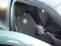 Чехлы на сиденья модельные Nissan Juke 2010 - (стандарт)