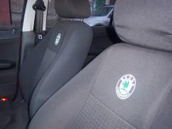 Чехлы на сиденья модельные Skoda Superb 2001 - 2008 (стандарт)