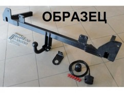 Hakpol Фаркоп Skoda OCTAVIA III (13-) A7 невидимая
