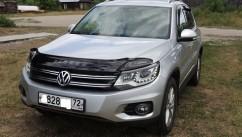 VIP Tuning Дефлектор капота  VW Tiguan с 2008-2016