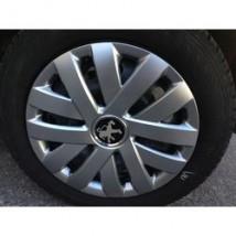SKS (с эмблемой) Колпаки Peugeot 315  R15 (Комплект 4 шт,)