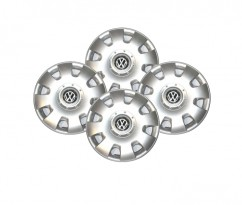 SKS (с эмблемой) Колпаки Volkswagen 304  R15 (Комплект 4 шт,)
