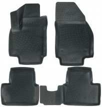 Lada Locker Коврики в салон полиуритановые Opel Meriva B (10-)