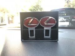 JTEC Заглушки для  ремня безопасности Lexus