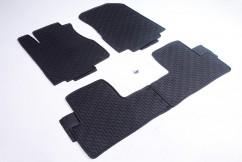 AVTM Коврики в салон  Honda CR-V 2012-2017 / черные комплект  - 4шт
