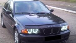 VIP Tuning Дефлектор капота  BMW 3 серии (46кузов) c 1998-2001