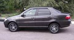 Ветровики Fiat Albea Sd 2007-2012