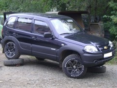 Ветровики  Chevrolet NIVА 2002-