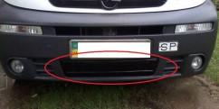 AVTM Зимняя  накладка Renault Trafic/Opel Vivaro 2006-2015 (бампер низ)