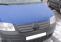 AVTM Зимняя  накладка Volkswagen Caddy 2004-2010 (верх решетка)