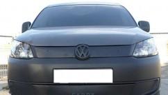 AVTM Зимняя накладка матовая Volkswagen Caddy 2010- (верх решетка)