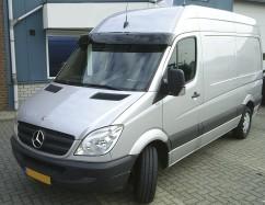 Козырек лобового стекла  Mercedes Sprinter/VW Crafter (06-)