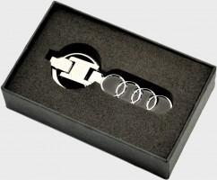 Брелок оригинальный  для ключей Audi (Premium)