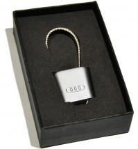 Брелок оригинальный  для ключей Audi (Premium, трос)