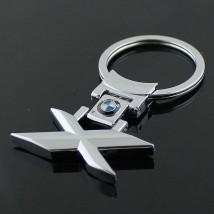 """Брелок оригинальный  для ключей BMW """"Х"""""""