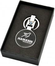Брелок оригинальный  для ключей Hamann (Premium, черный)
