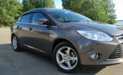 Ветровики Ford Focus III Sd/Hb 5d 2011