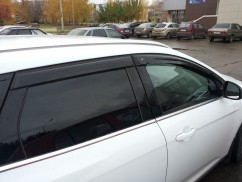 Ветровики Ford Focus III Wagon 2010