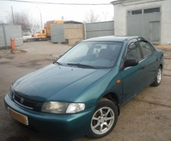 Ветровики Mazda 323 (BA) Sd 1994-1998  Cobra Tuning