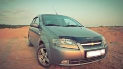 VIP Tuning Дефлектор капота  Chevrolet Aveo с 2003-2006(седан) с 2003-2008 (х/б)