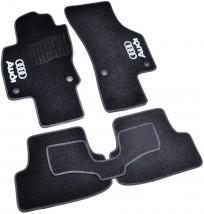 Коврики в салон текстильные Audi A3 (2012-) Черные, комплект 5шт