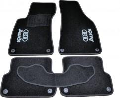 AVTM Коврики в салон текстильные Audi A4 В6,B7 (2000-2008) Черные, комплект 5шт