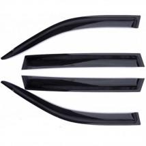 Дефлеторы окон для  Hyundai Solaris Sd 2010-2014; 2014/Verna Sd 2010; 2014