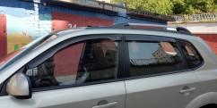Дефлеторы окон для  Hyundai Tucson 2004-2010