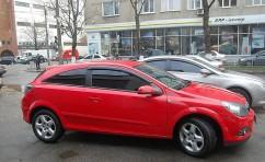 Дефлеторы окон для  Opel Astra H Hb 3d 2005/Astra G 3d 1998-2004