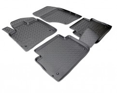 NorPlast Коврики в салон Audi Q7 (4LB) (05-15) полиуритановые