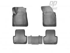 Коврики в салон Audi Q7 (4M) (15-) (5 мест) полиуритановые