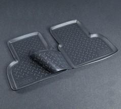NorPlast Коврики в салон Fiat Doblo задние (01-) полиуритановые