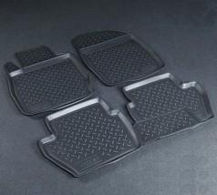 Коврики в салон Ford Fiesta (08-) полиуритановые