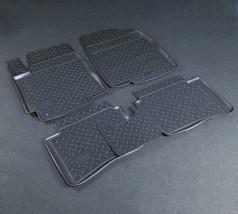 Коврики в салон Hyundai Accent/Solaris (10-) полиуритановые