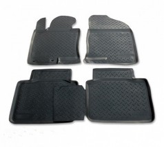 NorPlast Коврики в салон Hyundai Sonata (YF) (10-) полиуритановые