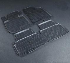NorPlast Коврики в салон Hyundai ix35 (10-) полиуритановые