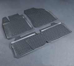 NorPlast Коврики в салон Lexus CT 200h (11-) полиуритановые