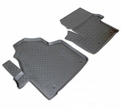 NorPlast Коврики в салон Mercedes Sprinter (06-13)/Volkswagen Crafter (06-) полиуритановые передние