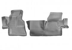 NorPlast Коврики в салон Mercedes Sprinter (13-) полиуритановые передние