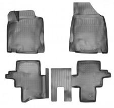 NorPlast Коврики в салон Nissan Pathfinder (R52) (14-) полиуритановые  5мест