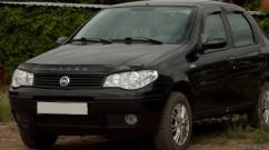 Дефлектор капота  Fiat Albea c 2007