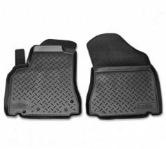NorPlast Коврики в салон Peugeot Partner Tepee/Berlingo (08-12) полиуритановые передние